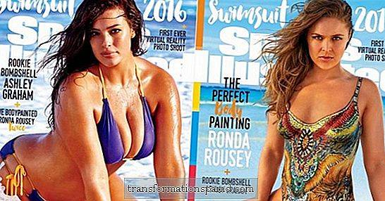 Ronda Rousey's, Ashley Graham's & Hailey Clauson's SI-badpakuitgifte covers brak net het internet