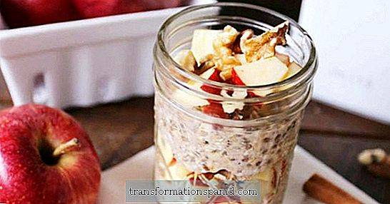 Frokost cravings: Apple Cinnamon Overnight Oats