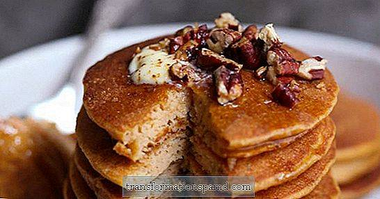 The Ultimate Fall Breakfast: Sweet Potato Spice Protein Pancakes