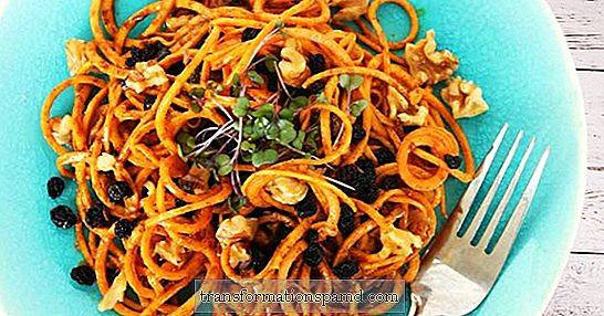 Upgrade Fall Zoodle: Curry Sweet Potato Makaron